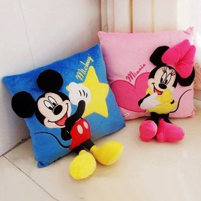 Set 2 perne Mickey si Minnie Mouse 3D