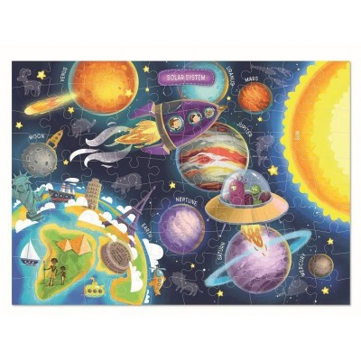 Puzzle - Spatiul cosmic (100 piese)