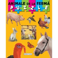 Carte puzzle - animale de la ferma