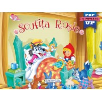 Pop-up - Scufita rosie