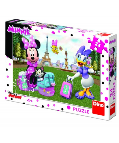 Puzzle - Minnie si Daisy (24 piese)